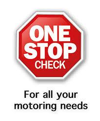 One stop check logo